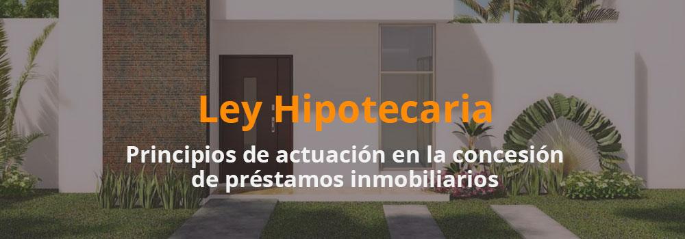 definiciones ley hipotecaria