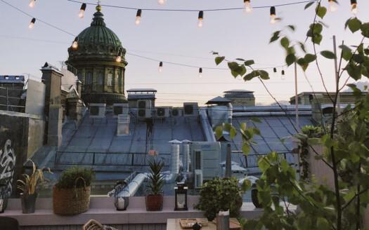 5 ideas modernas de decoración de balcones